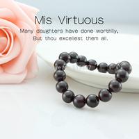 Women's natural crystal 8m garnet bracelet male bracelet