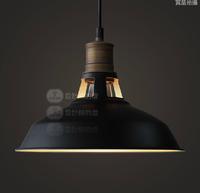 Lamp loft fashion vintage bar stair pendant light american including ST64 edison bulb