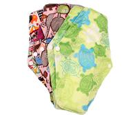 Happy Flute bamboo charcoal sanitary napkins menstrual pads 10 pcs free shipping