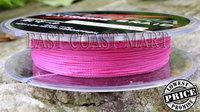 PE Dyneema Braided Fishing Line 100M Pink 8LB 0.1mm 109 Yard Spectra Braid