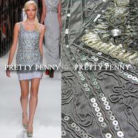 Advanced beading clothes luxury fabric