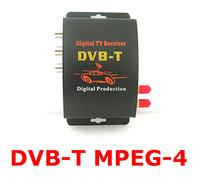 M-629S Car DVB-T MPEG-4 Digital TV Dual Tuner Receiver OSD Menu support English/French/German/Italian/Spanish/Greek/Russian