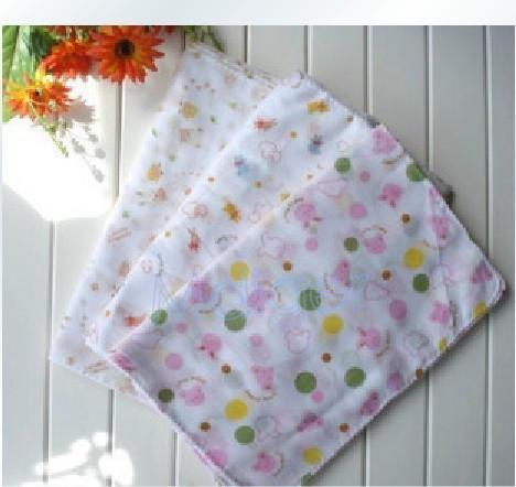 Crazy Sale 80 * 31 cm High Quality Kids Washcloth Double Gauze Baby Towel Bath 100% Cotton Towel Wrapped MDT0061(China (Mainland))