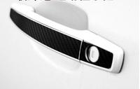door handle carbon sticker fit for Buick Regal Encore opel astra Excelle XT GT sedan hatchback OPEL Vauxhall MOKKA 2009-2014