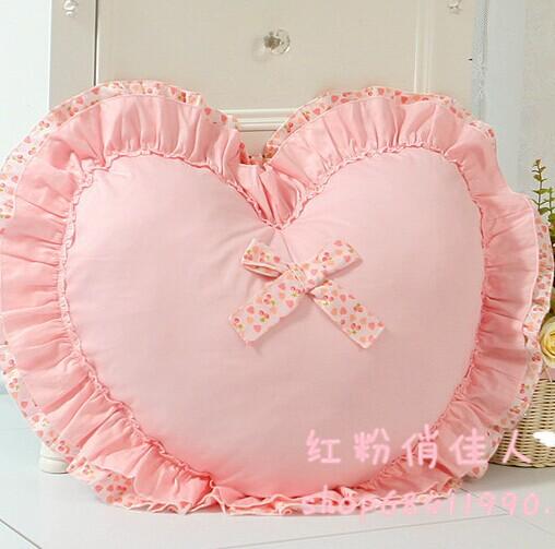 Princess love pillow cushion home decor bedding set pink cushion covers almofadas decorativas korean style pillow perfume(China (Mainland))