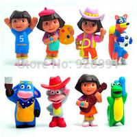 anime figure adventurous dora the explorer figurine kids classic toys christmas gift for boys girls children