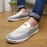 Fashion sports leisure han edition men's shoes breathable canvas shoes,brand,men shoes,flat shoes,sapatilhas femininos 2014