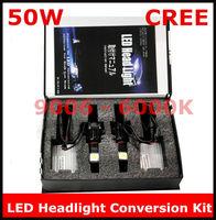 Universal LED Headlight Conversion Kit 9006 50W 5000K CREE 2*25Watt LEDs Bulb