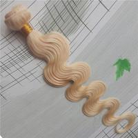 "Hot Selling Bleach Blonde color 613 Body Wave Brazilian Virgin Human Hair Weave Body Wave 14""-26"""