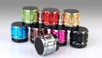 Portable Mini Bluetooth Speakers Metal Steel Wireless Smart Hands Free music speakers  FM Radio Support SD Card S28 Speaker