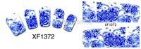 XF1372-1387 Free Shipping 20sheets/lot Mixed Series Cute Water Transfer Deco Nail art Water sticker