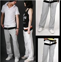 S-2XL 2014 Brand Men Pants New Couple Double Waist Patchwork Sport pants Korean Baggy Cargo Harem Overalls Casual Trousers AX763
