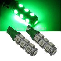 Wholesale 50Pcs T10 13 SMD Led 13Smd 13Led 5050 Indicator Light Auto Car Led Wedge Bulb Lamp White/Red/Blue/Green/Pink/Yellow