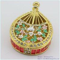 Enamel Pipa jewelry box Guangzhou China_SCJ588 pipa small jewelrybox-China pipa shape display box