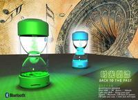 2014 New Chrismas gift back to the past speaker Hourglass/Sandglass speakers girl friend's gift