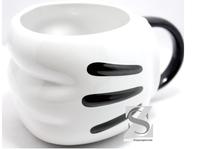 Free shipping classic cartoon Mickey fist ceramic coffee mug cups, milk/beer/cup chlidren birthday gift