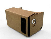 Free Shipping Whole 1 Piece Hot Sell DIY Google Cardboard Virtual Reality Mobile Phone Glasses with NFC TAG