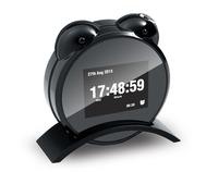 Wholesale Hidden clock camera mini camcorder 720P motion sensor w/ night vision,video recorder,taking photo,Remote control.CL21