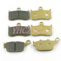 Free shipping for Kawasaki ZR800 Z800 2013-2014 front and rear brake pads set