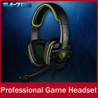 SADES SA708 Professional Gaming Headphone Headset For Computer Gamer 3.5mm Plug Stereo Bass Hi-Fi Earphone With Mic