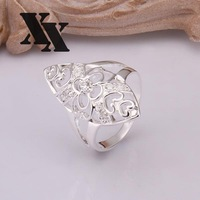 R266 925 Silver rings new design finger ring for lady