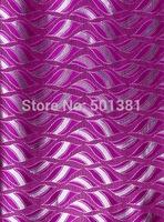 1set/lot, African Sego Headtie Gele & Ipele 2pcs in1bag, 1bag/lot, D/N 0076 Fushia Pink