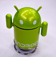 Brand New upgrade Android Robot Speaker, FM Function, TF Support Portable Mini Speaker