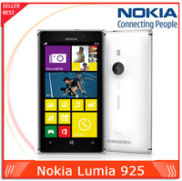 "original phone lumia 925 Windows Phone 4.5""  1GB  16GB Camera 8.7MP Wifi GPS 4G nokia Lumia 925 Mobile Phone Free shipping"