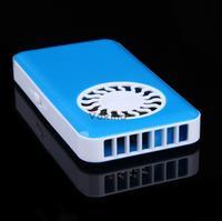 V1NF Hand-held Mini Fan Low Noise Cooler W/ Rechargeable Li-ion Battery 700mAh