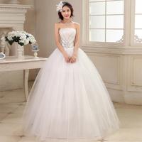 Love wedding dress 2014 new Korean version diamond Bra mopping straps princess wedding dress