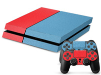 New Arrival 50 pieces/lot Mixed Styles Custom Sticker Cover For PS4 Decals Console and Matching Controller Skins Wholesale