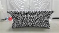 vogue print lycra rectangle  table cloth
