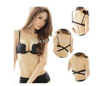 W cup Thin push up Bra & Brief Sets (bra +Panties)