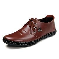 men's shoes leather handmade promotion wholesale men's shoes