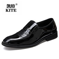 Special offer British men business suits leather men's shoes autumn new strains with low help shoes