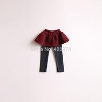 Sun female child j - faux two piece cotton culottes 2