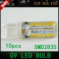 1pcs 2014 new  G9 SMD 2835  LED Bulb 220V 9W LED  corn Lamp   CREE LED light 360 Beam Angle led spotlight lamps free shipping