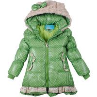Mitch 2014 female child medium-long down coat child down coat female winter girl
