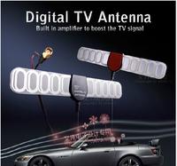 Car TV Digital DVB-T  DVB FM Antenna Amplifier Booster SMA Connector for TV HDTV wholesale