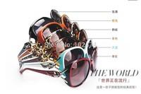 3 pcs/lot Free shipping brand D*or Eyewear Shiny Wayfarer Style Sunglasses Various Colors