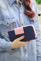 2014 Women Wallets Explosion Models High Quality Women Wallet Brand Ladies Purse Women's Clutch Large Capacity Phone Bag AA155