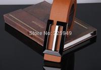 Brands Leather Belts Men's Fashion with Metal Buckle 2014 New Designer Belts for Women jeans , Casual Men Belts Brands