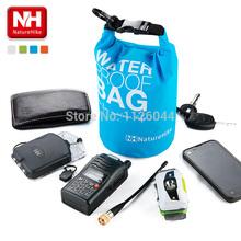 Free Shipping  2L And  5L  Drifting Ultralight Rafting Bag Drifting Bag Waterproof Bag Dry Bag - NatureHike(China (Mainland))