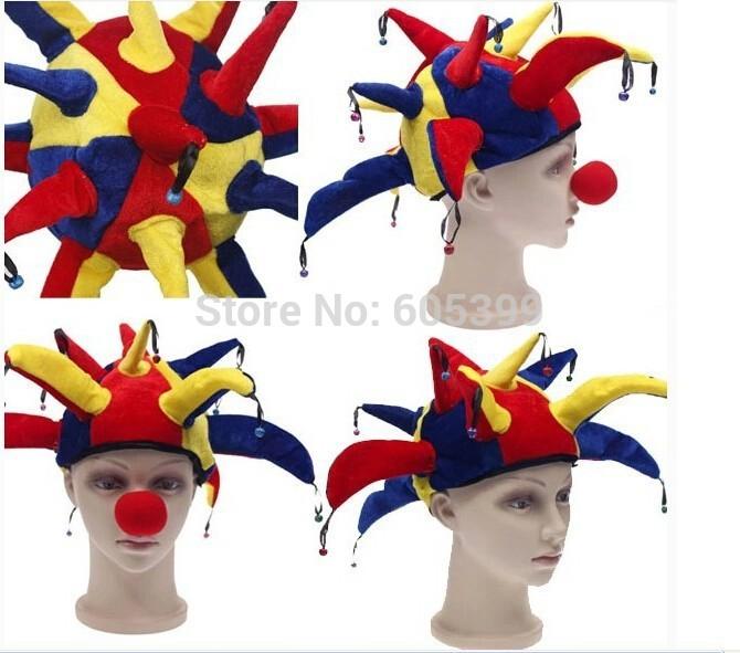 Праздничный атрибут Halloween Supplies  Party Clown Hat queenway alnico magnet steel magnetic full range hifiend 15 inch speaker driver ture hifi full range speaker ball skeleton