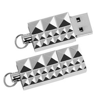AU100 Metal Keychain 2.0 usb Flash drive memory stick/thumb usb disk pendrive 4GB 8GB 16GB 32GB