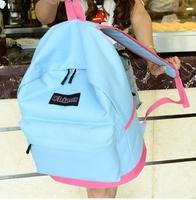 HOT! Original Design Candy color patchwork Backpack women and Men's backpacks Students School Bag Travel Bags sports bag