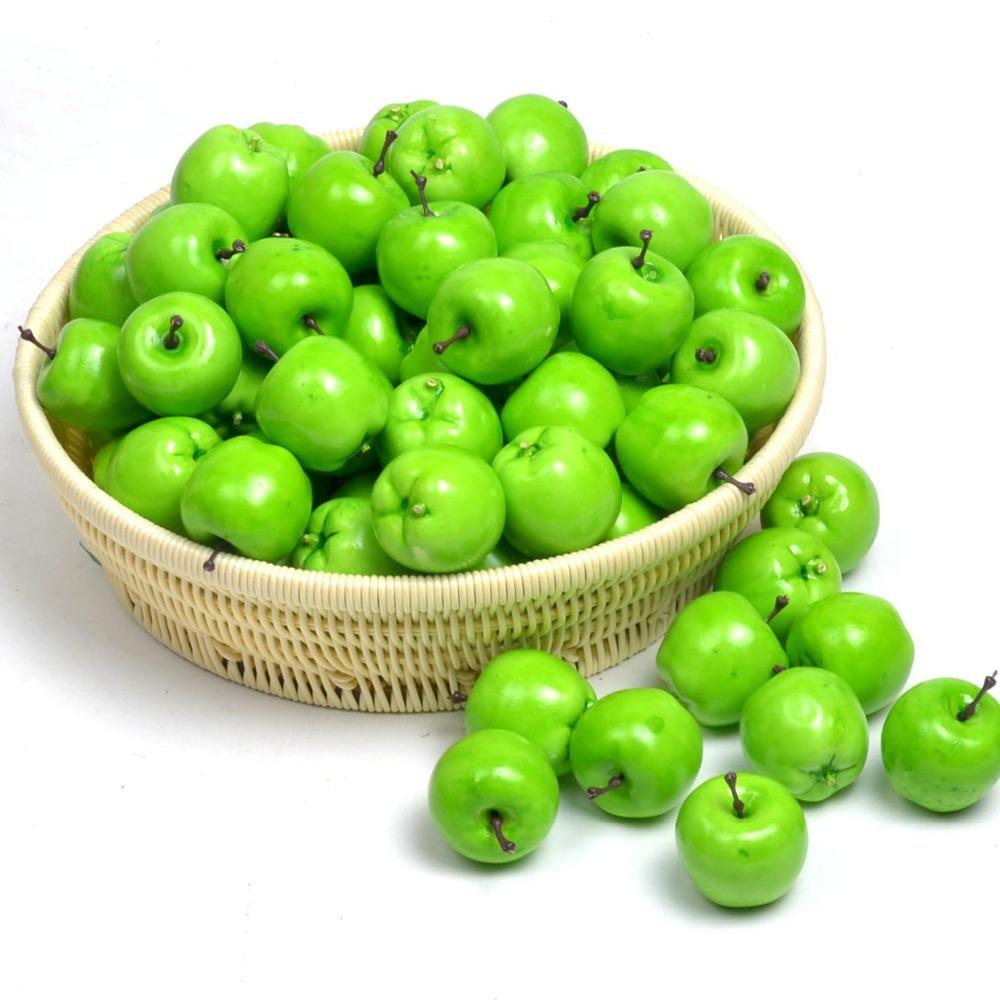 Keuken Decoratie Appel : Online kopen Wholesale kunstmatige groene appels uit China kunstmatige