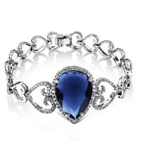 2014 new arrival Drop shape Zirconia  bracelet top female  birthday gift