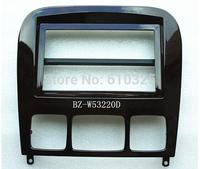 Fascia Panel Audio Panel Frame Dash Kit For M.BENZ 98~05 S-CLASS(W220) Dark Color Retail/PC Free Shipping