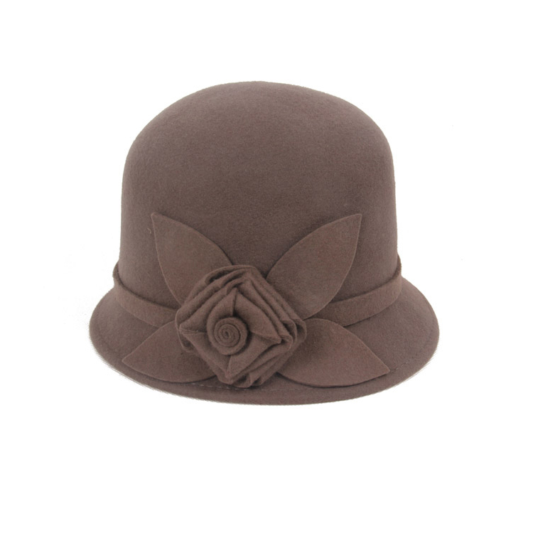 2014 limited fasion fashion summer sinamay hats woolen hat winter autumn and dome fedoras women's cap female amenity floral(China (Mainland))
